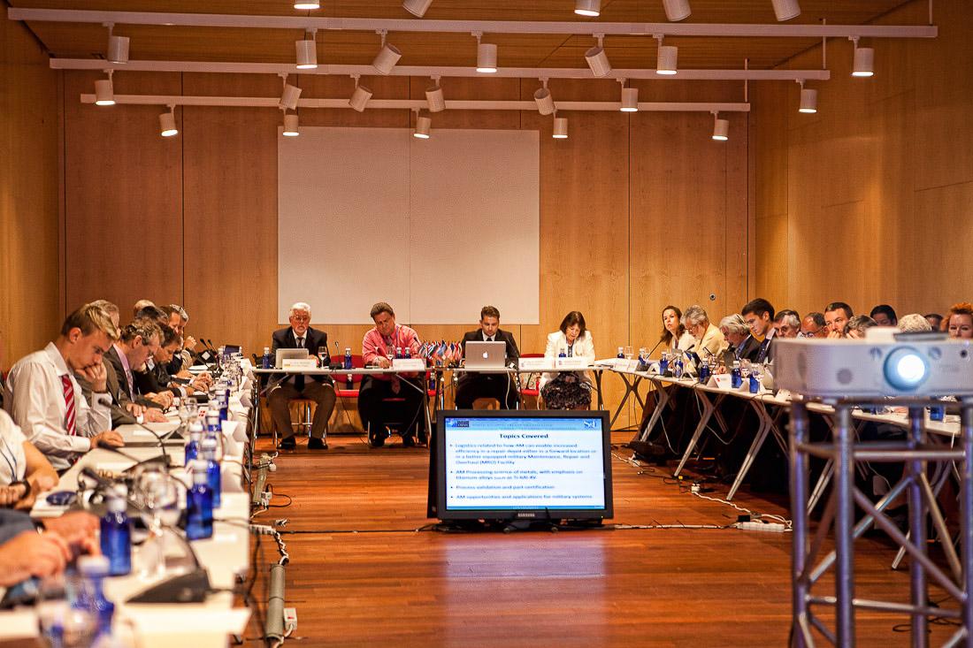 Congreso OTAN en Ávila Lienzo Norte